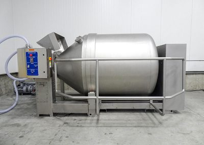 industrial vacuum tumbler after recondition by Kohler Industries
