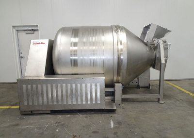 used vacuum tumbler for industrial food processing