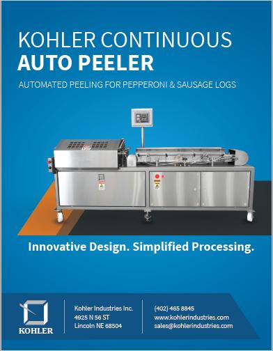 Kohler Peeler Spec Sheet