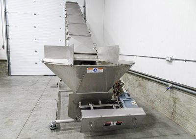 like-new screw auger conveyor after rebuild by Kohler Industries